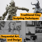 clay sculpting sequential art pulse college animation courses